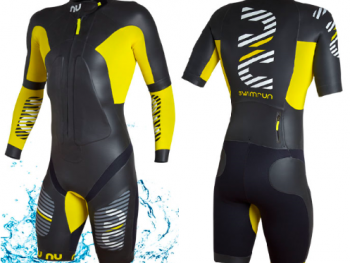 NU Triton 2.0 wetsuit front and back view